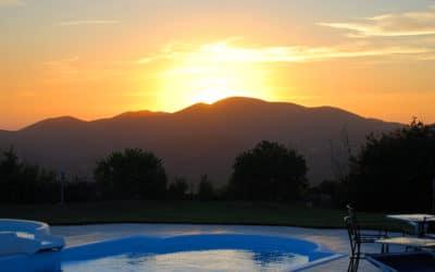 Agriturismo Montevecchio Sonnenuntergang (10)