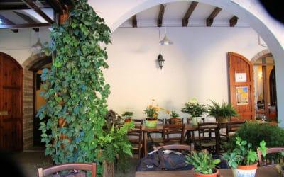 Agriturismo Montevecchio Terrasse des Restaurants (11)