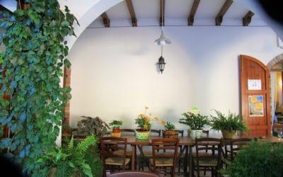 Agriturismo Montevecchio Terrasse des Restaurants (12)