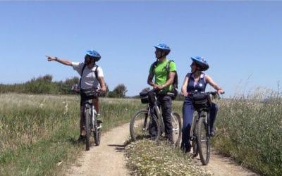 Cabras mit dem Fahrrad (2)