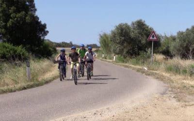 Cabras mit dem Fahrrad (3)