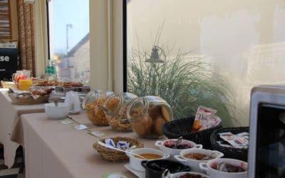 Hotel Sinis Frühstückraum Haus 1 (2)