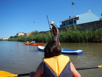 Kanoo in der Lagune (4)